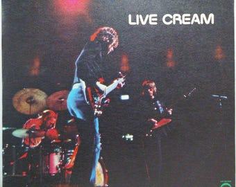 Live Cream Blues Rock Lp Clapton Baker Bruce Atco