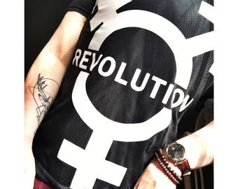 Trans Revolution Tee Transgender Transsexual Transexual Queer LGBT Queer Fashion FTM MTF Nonbinary Agender