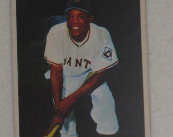 1954 bowman willie mays #89