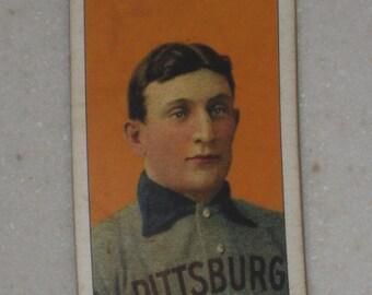 1909/10 T206 Honus Wagner Piedmont Cigarettes Back