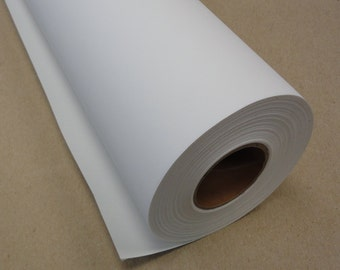 "17"" x 40 ft roll of Matte Polyester Inkjet Canvas for Wide Format Inkjet Printers"