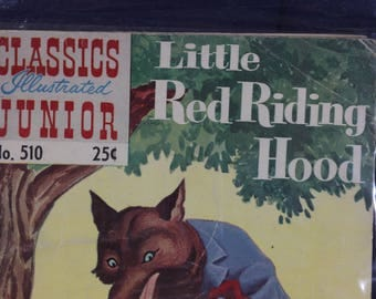 Little Red Riding Hood no. 510 vintage comic book