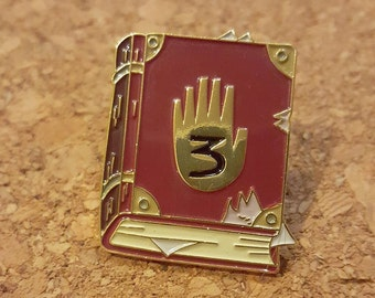 Journal 3 Enamel Pin