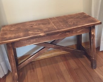 Bench-distressed/rustic