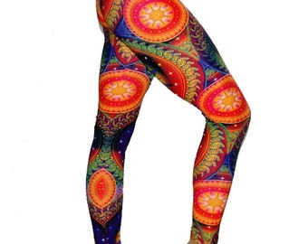 Sun Salutation Yoga Leggings