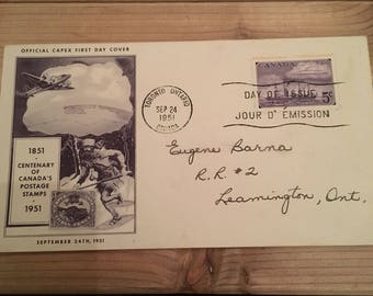 First Day Cover, 1951