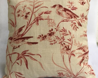 Pink Bird Pillow- 03