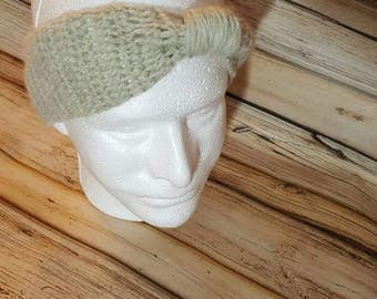 Crocheted Ear Warmer Headband