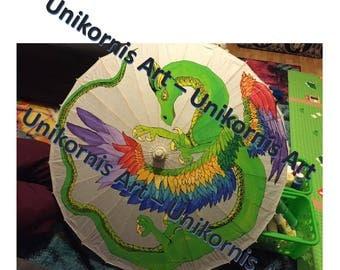 Original and Custom Art Parasols