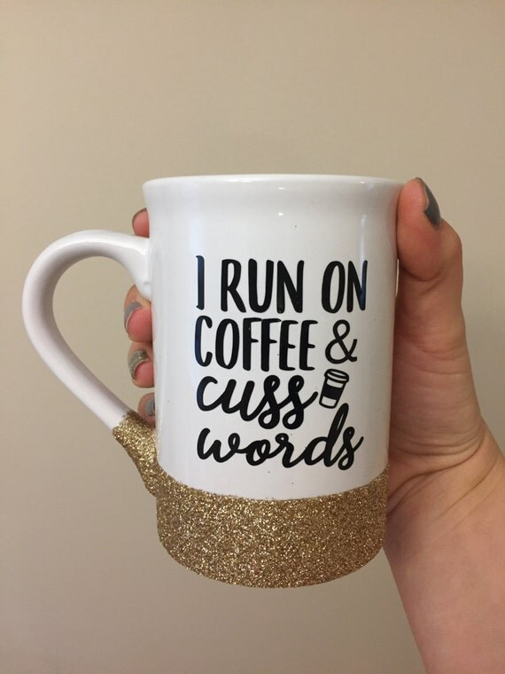 Coffee & Cuss Words mugs