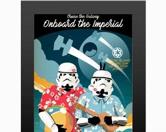 Star Wars Travel Poster