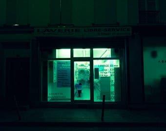 "night # 14-20 x 30 cm. Series ""at rest"""