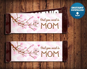 Mothers Day , Candy bar , Mothers Day Gift