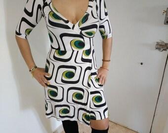 seventies dress / / dress style 60s