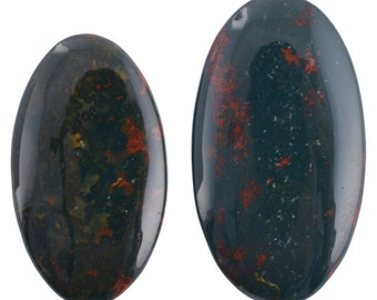 Natural Blood Stone 50.45 Cts AAA+++ Super Fine Quality Oval Shape And Size For Pendent And Necklace