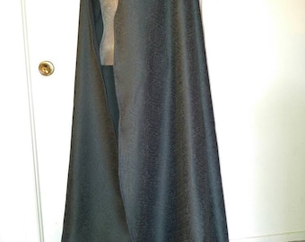 Cape long Medieval turquoise Medieval long cape