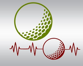 Download Golf SVG Files for Cutting Sports Ball Cricut Designs ...