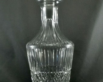"""Waterford Tramore Wine Decanter 12.75"""" Clear Cut Crystal match Maeve and Baltray"""