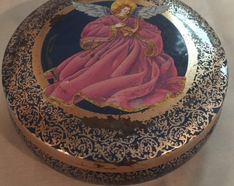 Vintage Angel Tin - made in Brazil