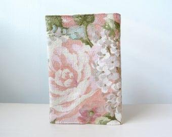 Passport holder, Passport cover, Fabric passport holder, Fabric passport cover, Floral passport holder