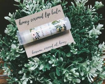 Honey Coconut Lip Balm