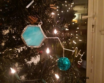 Stained Glass Molecule - Phenethylamine (First Attraction, Chocolate)