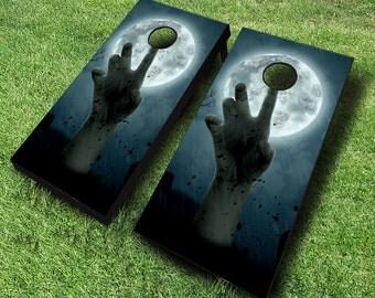 Zombie Cornhole Boards