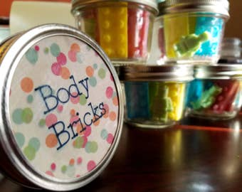 Body Bricks Jar