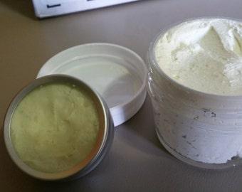 Ultra moisturizing whipped body butter