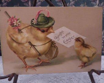 Early 1900's Ellen Clapsaddle Easter Postcard