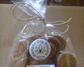 Hempful Dog Biscuits  8 oz.
