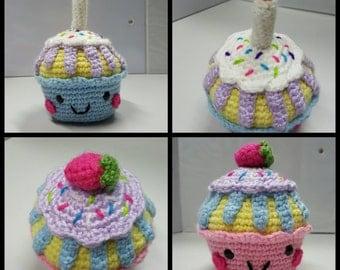 Smily cupcake