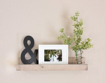 Picture Ledge, Wood Shelf, Picture Shelf, Rustic Home Decor, Farmhouse Decor, Picture ledge and Decor Shelf