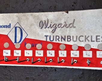 Plaque murale Diamond D en bois, avec crochet