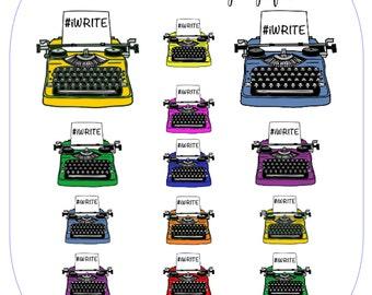 Typewriter Set -  #iWRITE