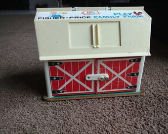 1967 Fisher Price Barn - Vintage NEW ITEM!!!