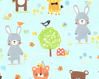 Flannel - Nature Babies by Michael Miller Fabrics - 100% Cotton Flannel - 13 Yards Available