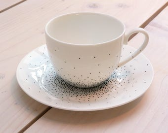 Going dotty cup and saucer set