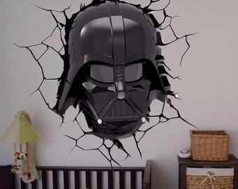 Darth Vader Full Color Decal, Star Wars Full color sticker, wall art cn 051