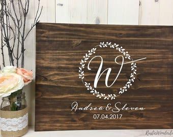 Wedding Guest book // Wood Guest book // Alternate Guest book // Wedding Sign // Rustic Wedding Guest book // Custom Wood Guest book