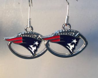 New England Patriots Earrings, 5 styles to choose from