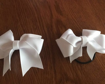 White Bow. Lung Cancer.
