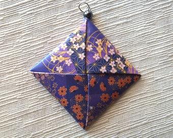 Origami pendant big