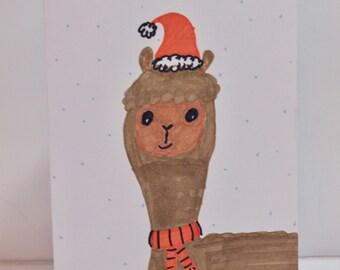Christmas Llama