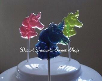 UNICORN LOLLIPOPS, Unicorn Party Favors, LuLaRoe Inspired Lollipops, Unicorn Birthday Party, Stocking Stuffers, Desert Sweet Shop-Set of 10