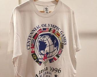 Vintage Atlanta Olympics Shirt