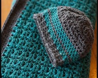 Baby Blanket & Matching Hat