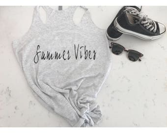 Summer vibes/womens/tank/