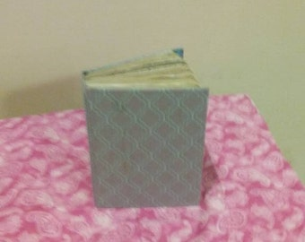 cute cloth covered journal.