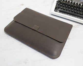Leather MacBook case/MacBook sleeve/Leather laptop sleeve/computer sleeve/apple computer sleeve/MacBook/laptop bag/computer sleeve/Mac case
